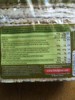 Rice 3-Grains - Galettes de riz fines - Informations nutritionnelles - fr