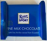 Fine Milk Chocolate - Produit