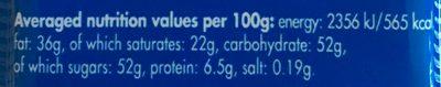 Fine Milk Chocolate - Informations nutritionnelles