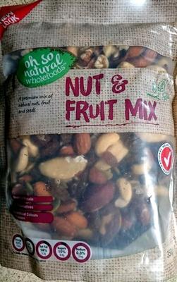 Nut & Fruit Mix - Product - en