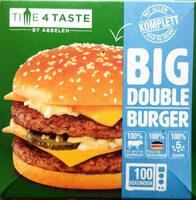 Big Double Burger - Produit - de