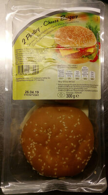 Abbelen 2 Poultry - Cheese Burgers - Product
