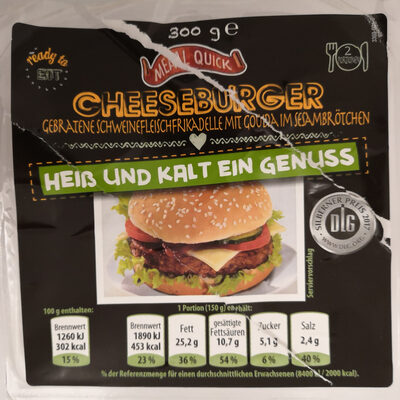 Meal Quick Cheeseburger - Product