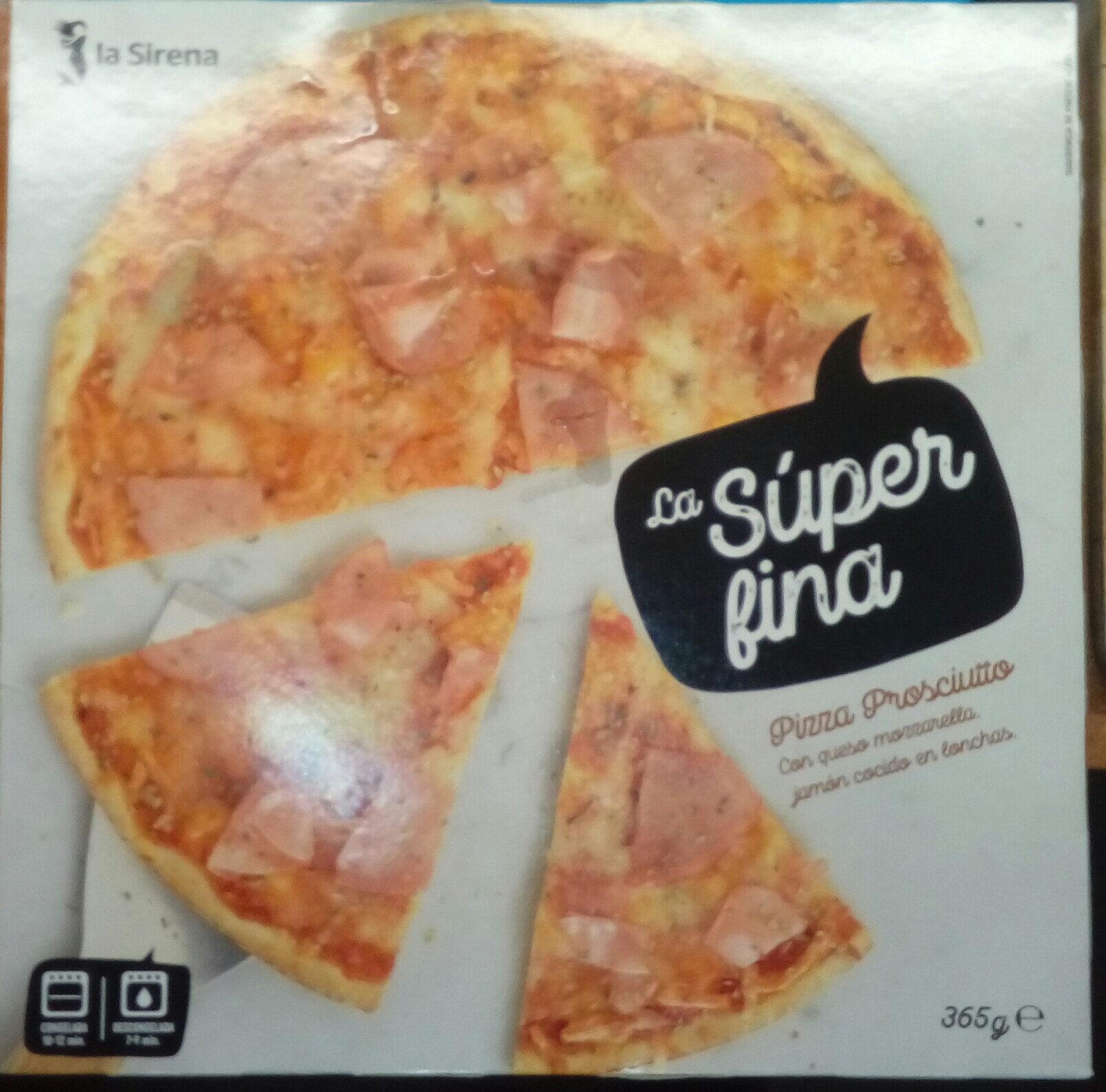 Pizza Prosciutto - La súper fina - Producte