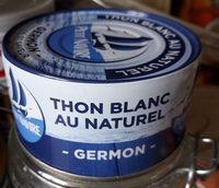 thon blanc au naturel - Produit