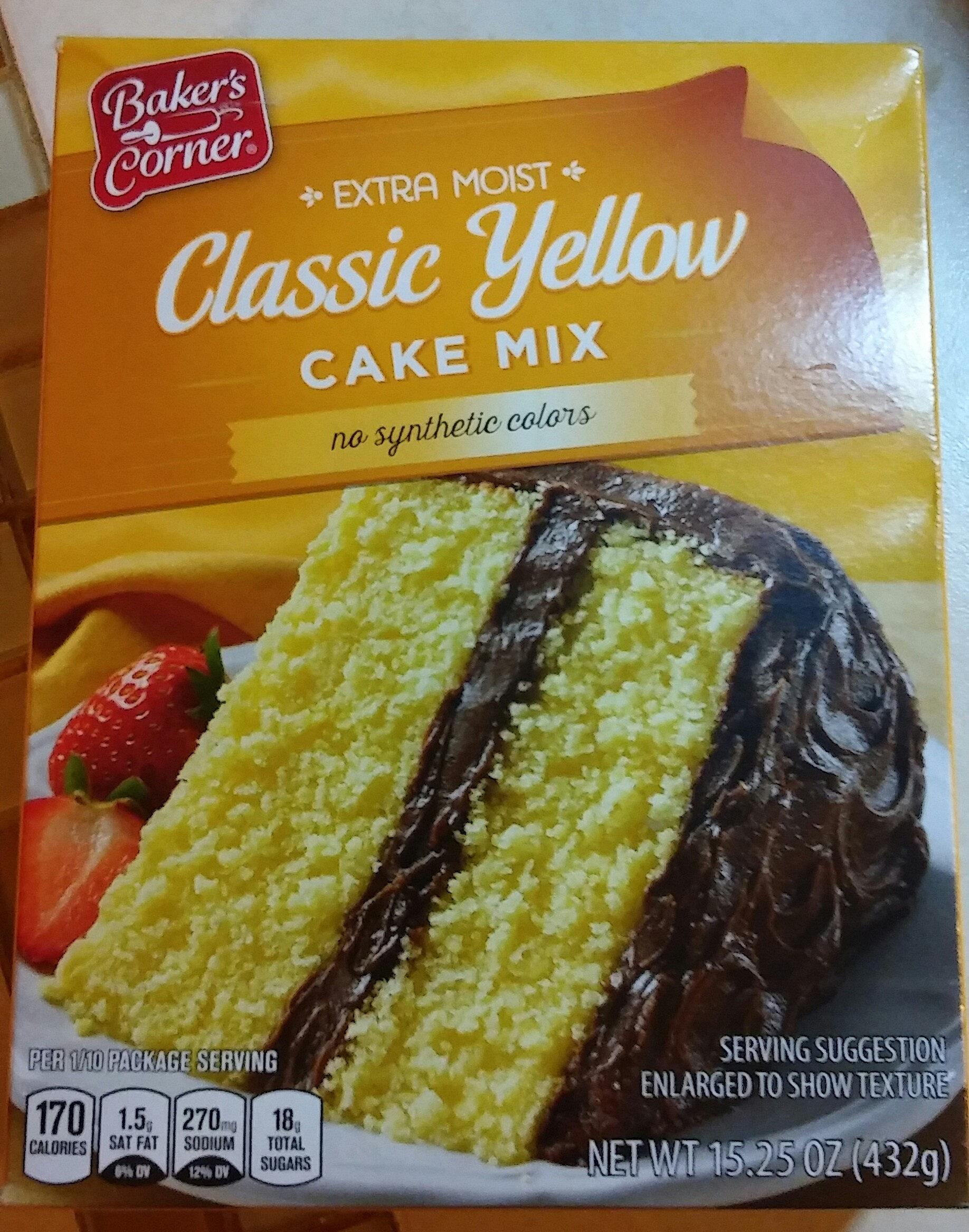 Classic Yellow Cake Mix - Product - en