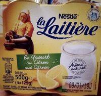 Le yaourt au citron - Product