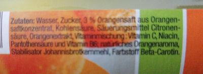 Flumi Orange - Ingredienti - de