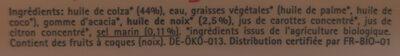 Oméga 3 - Ingrediënten - fr
