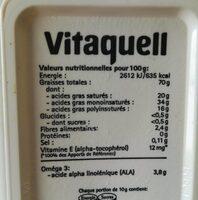 Oméga 3 - Voedingswaarden - fr