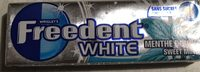 White menthe douce - Product - fr