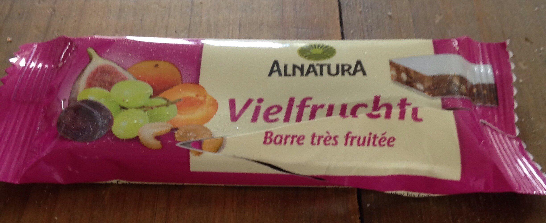 Vielfrucht Barre très fruitée - Prodotto - de