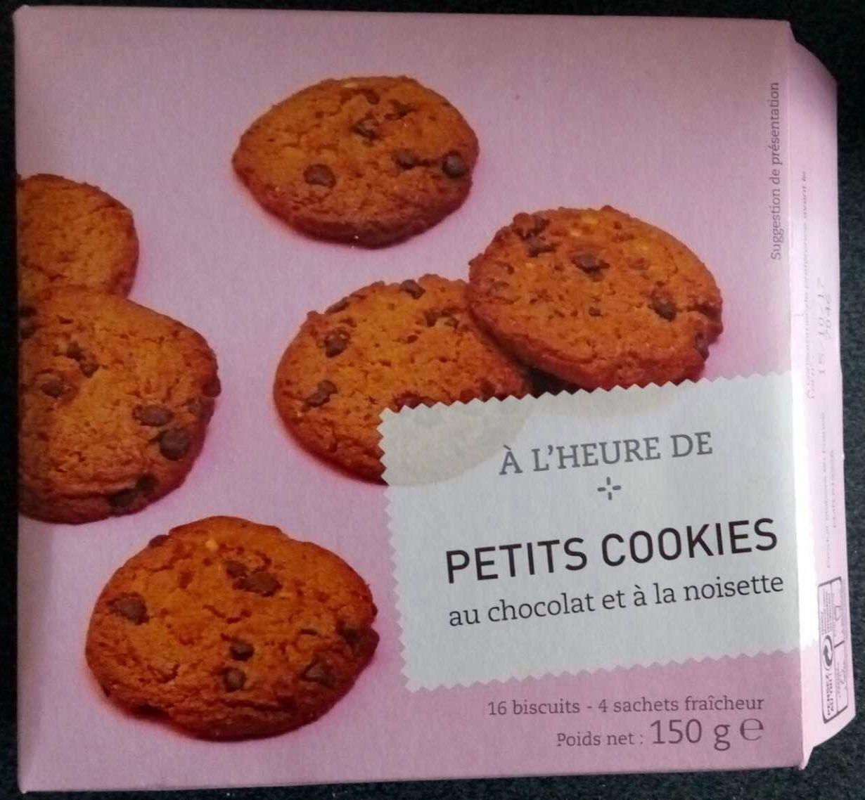 petits cookies au chocolat et la noisette picard 150 g. Black Bedroom Furniture Sets. Home Design Ideas