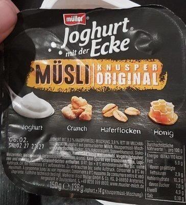 Joghurt Mit Der Ecke, Knusper Original - Produit - fr
