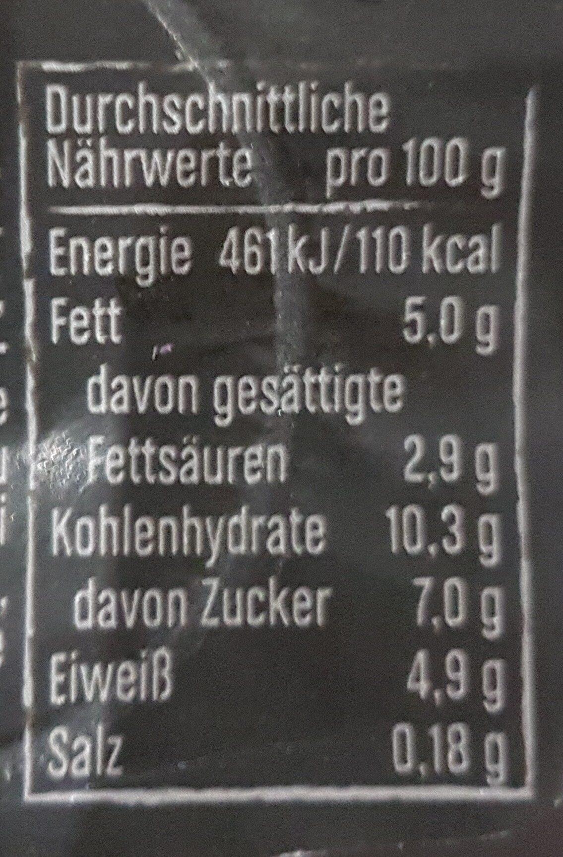 Joghurt mit der Ecke Knusper Original - Nutrition facts - fr