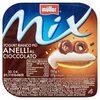 Yogurt bianco più anelli al cioccolato - Prodotto