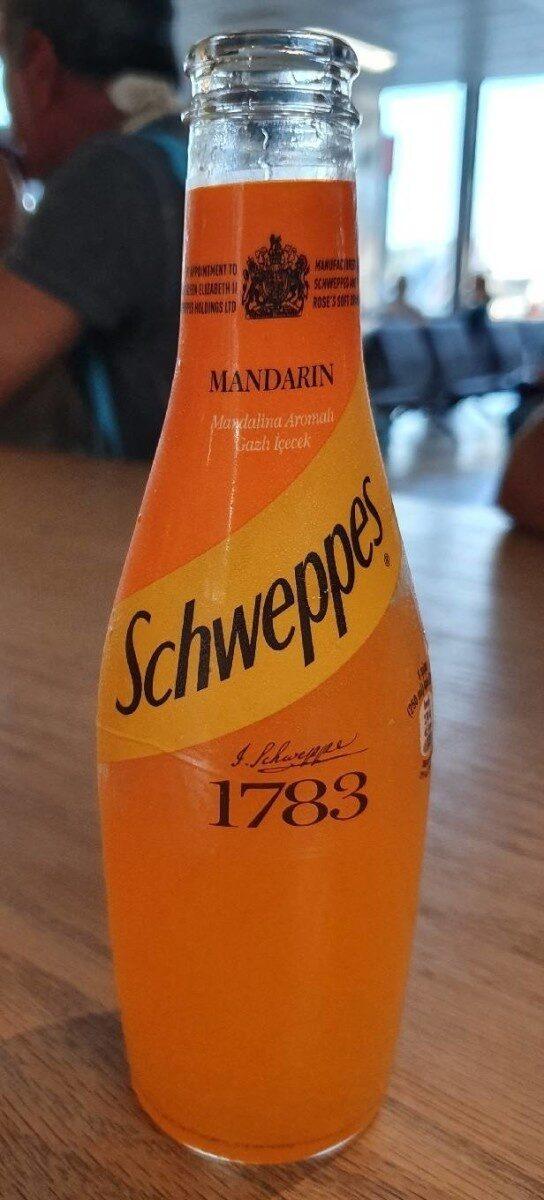 Schweppes Mandarin - Ürün - fr