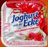 Joghurt mit der Ecke Schlemmer Himbeere - Produkt