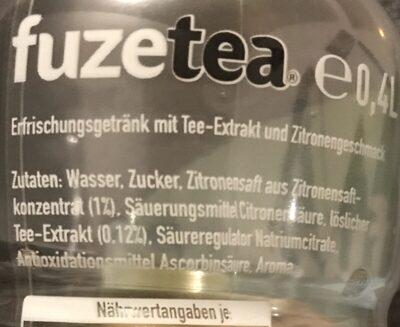 Fuzetea - Zutaten - de