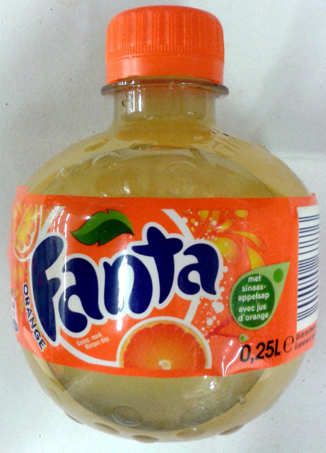 Fanta orange - Product - fr