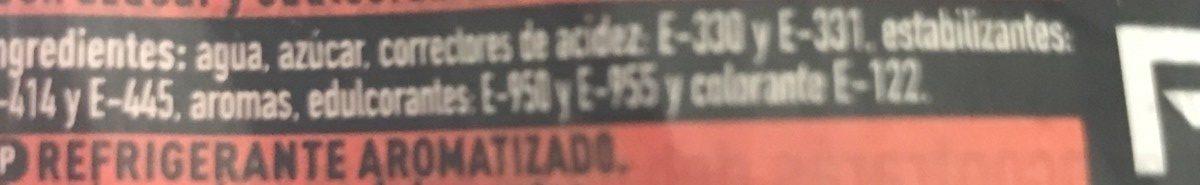 Powerade Blood Orange CL. 50 - Ingrédients