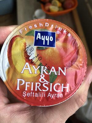 Ayran Peach - Product