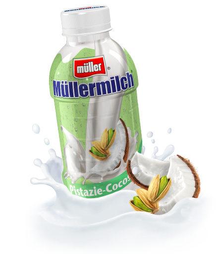 Müllermilch, Pistazie Cocos - Product - fr
