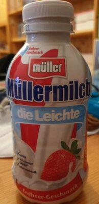 Müllermilch Die Leichte, Erdbeere - Produkt - de