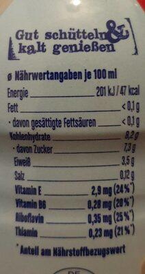 Müllermilch Die Leichte, Erdbeere - Nährwertangaben - de
