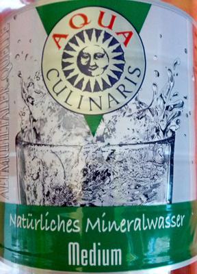 Natürliches Mineralwasser medium - Produit - de