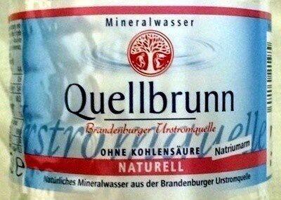 Quellbrunn naturell - Prodotto - de