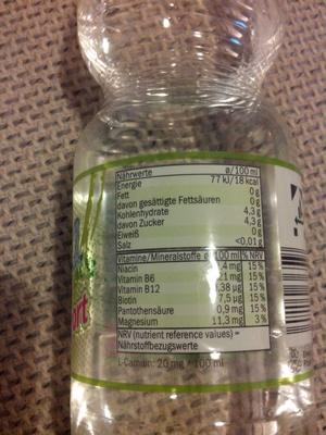 Aqua+sport, Limette & Grapefruit - Product - en