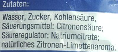 StarDrink Zitrone - Inhaltsstoffe
