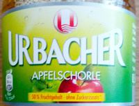Urbacher Apfelschorle - Produkt