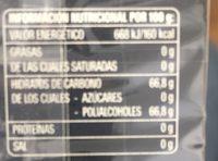 Hierbabuena electro - Información nutricional - fr