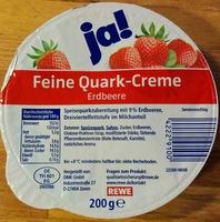 Feine Quark-Creme Erdbeere - Produkt