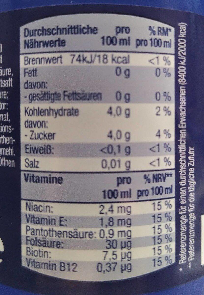 Iso Light - Valori nutrizionali - de