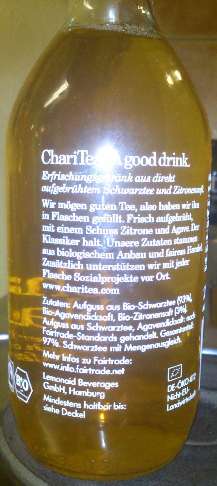 ChariTea black - Ingredients - de
