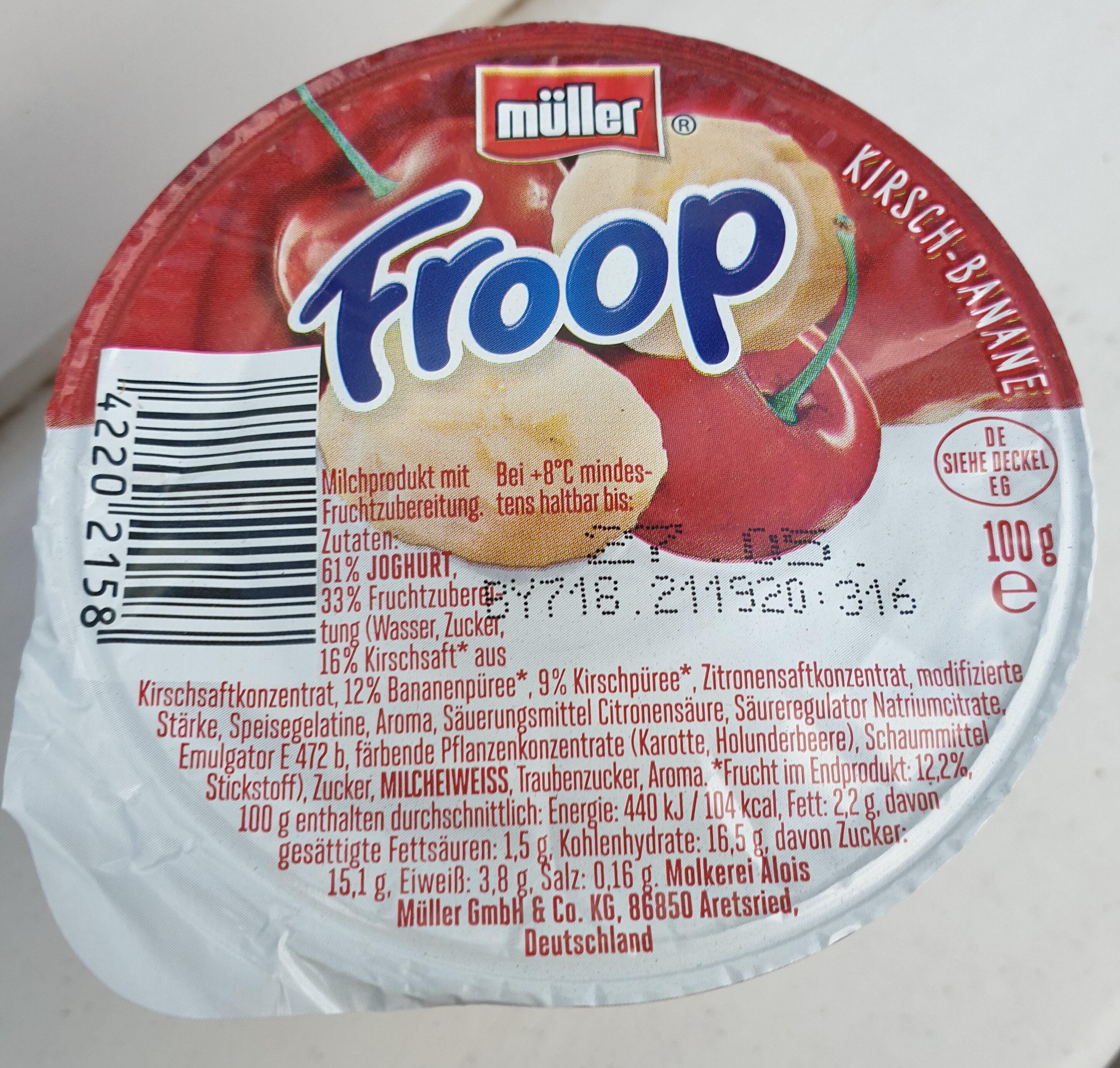 Froop Kirsch Banane - Product - de