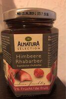 Fruit à tartiner bio Framboise rhubarbe - Prodotto - de