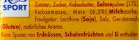 Ritter Sport Knusperflakes - Inhaltsstoffe