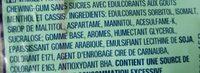 Cool Cassis - Ingrediënten