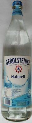 Gerolsteiner Naturell - Prodotto - de