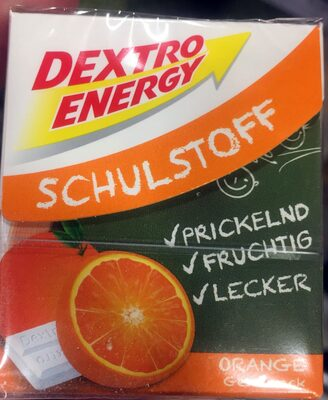 Schulstoff Orange - Product - de
