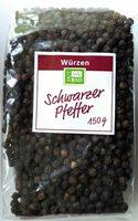 Schwarzer Pfeffer - Produkt
