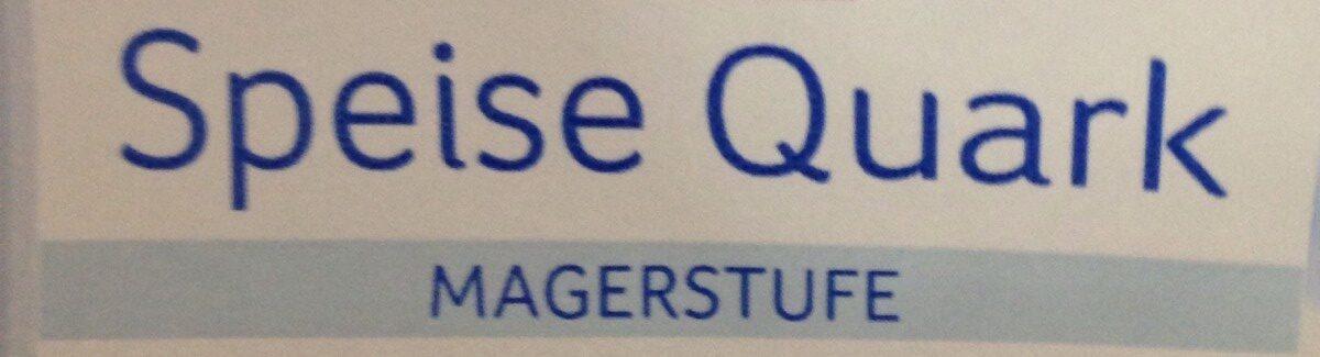 Speisequark Magerstufe - Ingrédients - fr