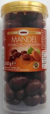 Vollmilchschokoladendragees Mandel - Produkt