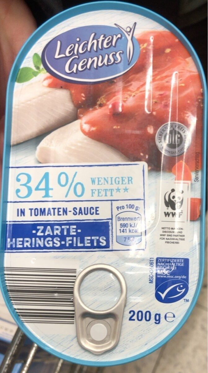 Zarte herings filet - Produkt - de