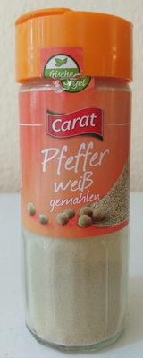 Pfeffer weiß gemahlen - Produkt