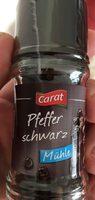 Pfeffer schwarz Mühle - Produkt